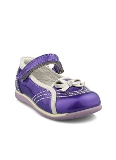 Cici Bebe Ayakkabı Rugan Kız Çocuk Ayakkabısı Mor